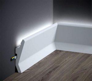 sockelleisten mit led beleuchtung
