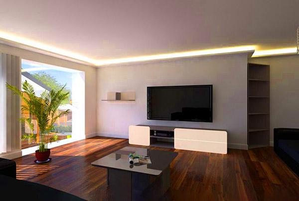 Indirekte Beleuchtung LED Selber Bauen | Anleitung und Vorteile